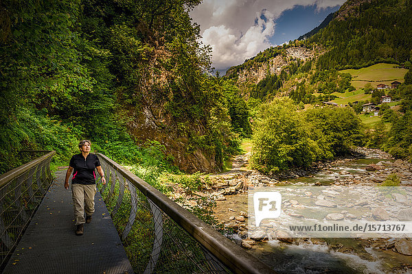Passerschlucht  South Tyrol  Italy  Europe