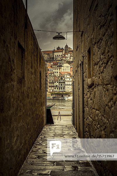 Old town  Ribeira  Porto  Portugal  Europe
