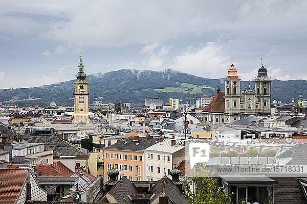 Austria  Upper Austria  Linz  Citysape