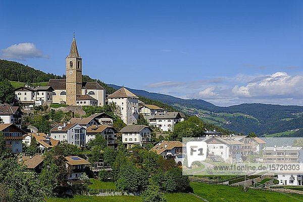 Jenesien  am Hochplateau Salten  Südtirol  Italien  Europa