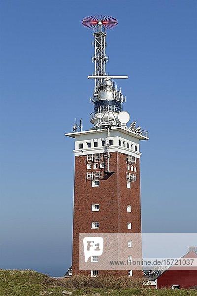 Leuchtturm  Helgoland  Schleswig-Holstein  Deutschland  Europa