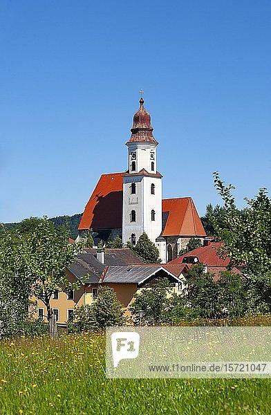 Wallfahrtskirche Maria Heimsuchung  Zell am Pettenfirst  Hausruckviertel  Oberösterreich  Österreich  Europa
