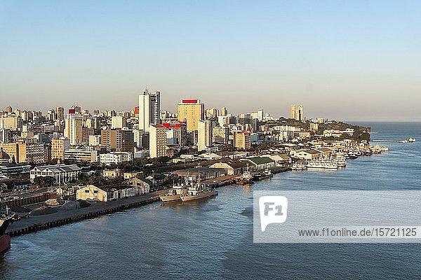 Downtown cityscape  Maputo  Mozambique  Africa