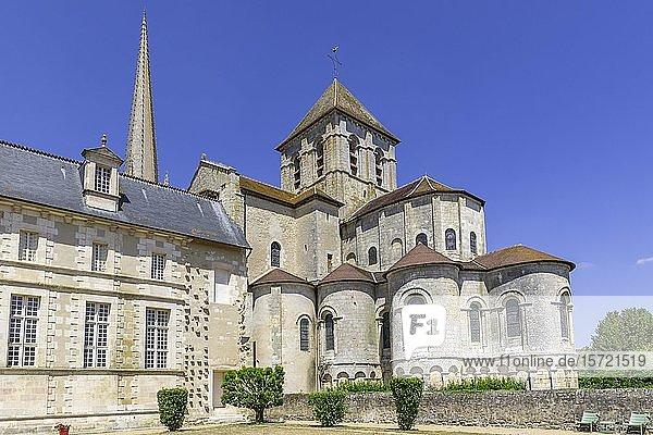 Abteikirche  Saint-Savin  Département Vienne  Frankreich  Europa