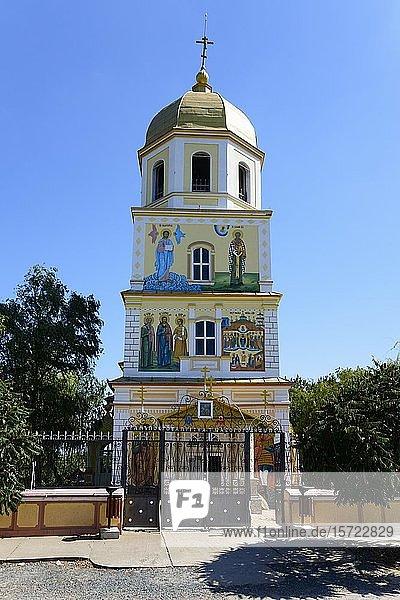 Russisch-orthodoxe Kirche Birth of the Virgin Mary  Sarichioi  Dobrudscha  Rumänien  Europa