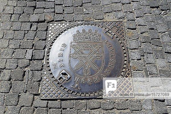 Gullydeckel  Sibiu  Siebenbürgen  Rumänien  Europa