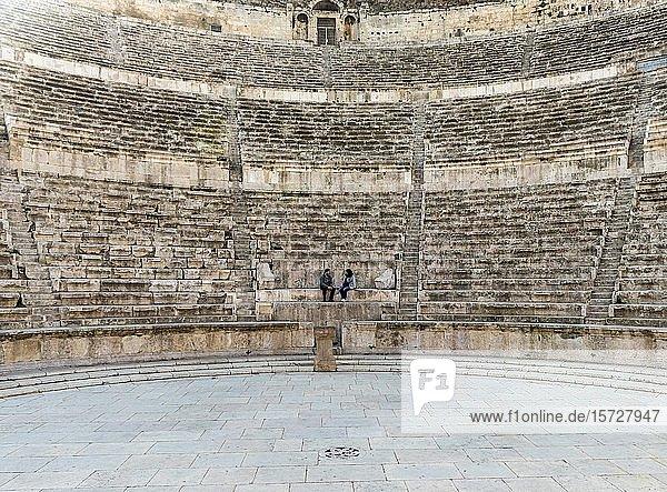 Römisches Theater  Amman  Jordanien  Asien