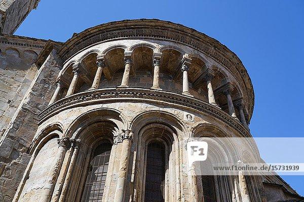 Central apse of Santa Maria Maggiore Basilica  Bergamo  Lombardia  Italy  Europe.