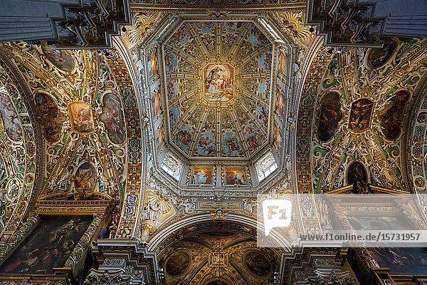 Santa Maria Maggiore Basilica  Bergamo  Lombardia  Italy  Europe.