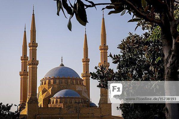 Mohammad Al-Amine Mosque  Beirut  Lebanon.
