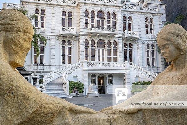 Sursock Museum in Beirut  Lebanon.
