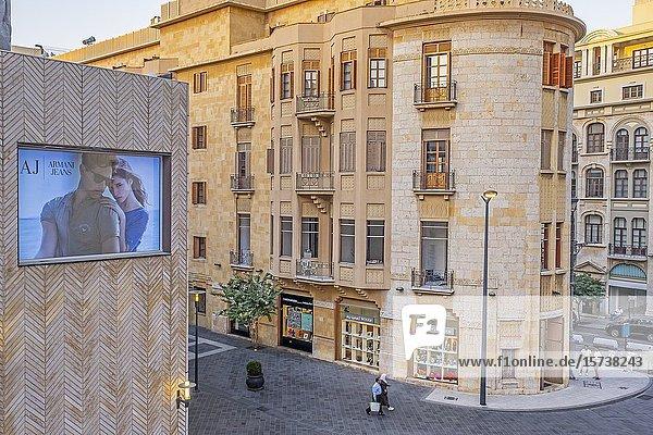 Al Moutran street  Downtown  Beirut  Lebanon.