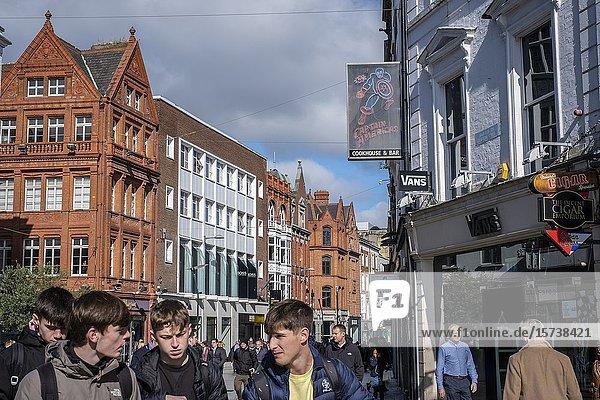 Grafton Street  Dublin  Ireland.