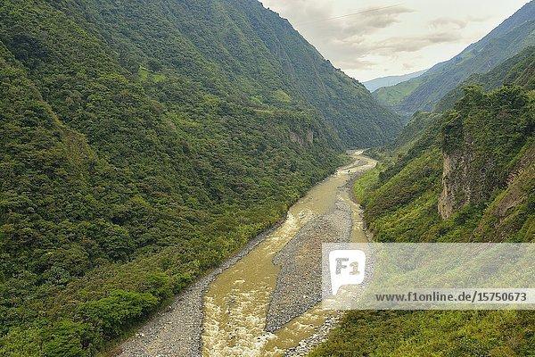 Río Pastaza. Parque Nacional Llanganates. Ecuador.
