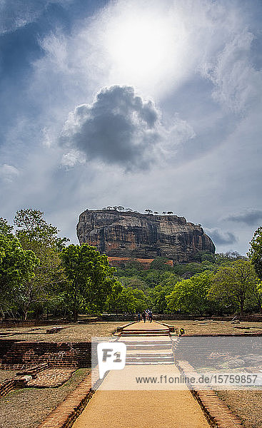 Ancient fortress  Sigiriya  Sri Lanka