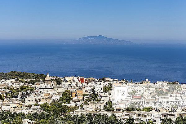 Island of Capri on the Tyrrhenian Sea  Mediterranean; Capri  italy