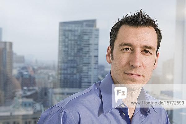 Portrait of a businessman.