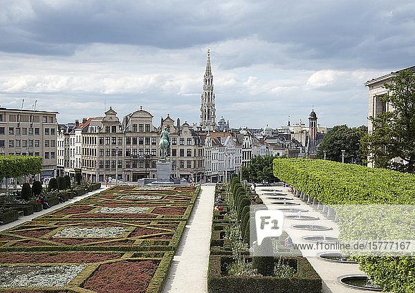 Mont des Arts  Brüssel  Belgien Mont des Arts, Brüssel, Belgien