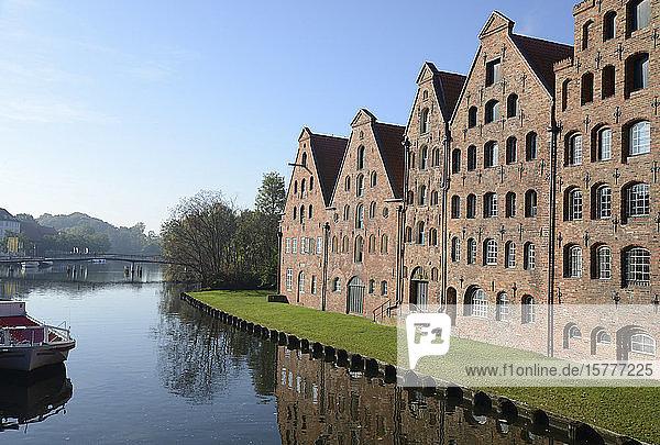Hansestadt Lübeck Salzspeicher  BRD Hansestadt Lübeck,Salzspeicher, BRD