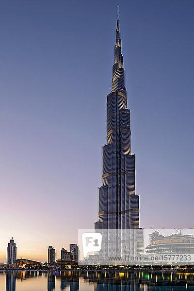 Burj Khalifa  Dubai  VAE