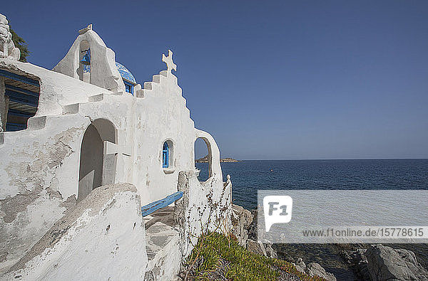 Church in Mykonos  Greece