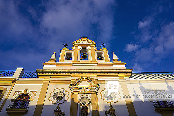Chapel of the Sailors in Seville  Spain