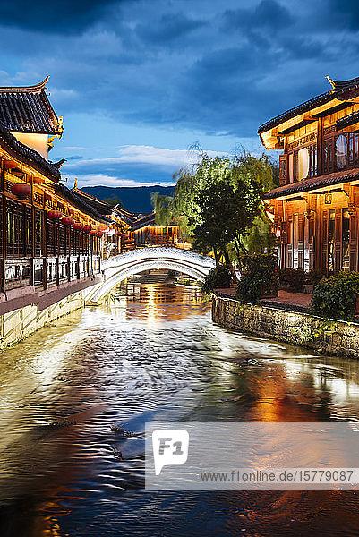 Old Town of Lijiang  Yunnan  China