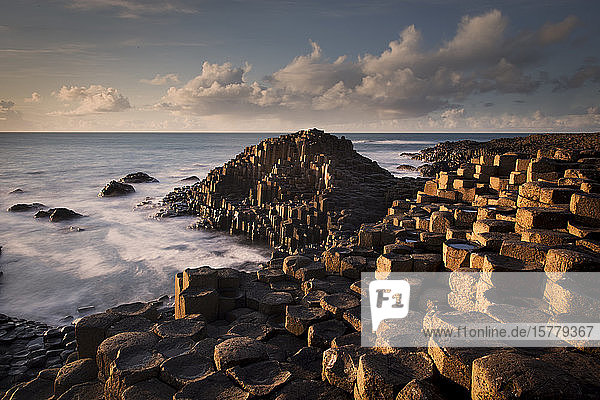 Giant's Causeway  County Antrim  Northern Ireland  UK