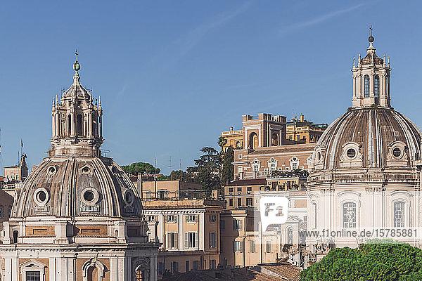 Italien  Rom  Kirche des Allerheiligsten Namens Mariens auf dem Trajan Forum und in Santa Maria di Loreto