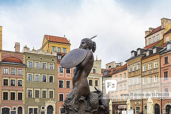 Altstädter Marktplatz  Warschau  Polen