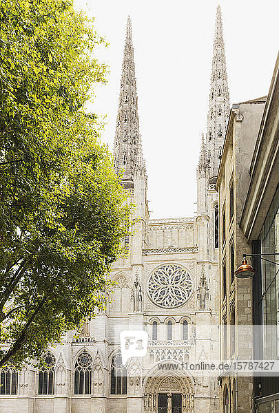 Frankreich  Gironde  Bordeaux  Fassade der Kathedrale von Bordeaux