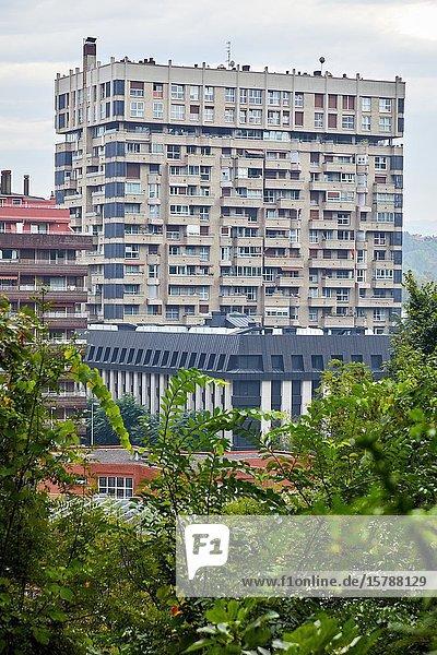 Apartment building  Podavines Street  Donostia  San Sebastian  Gipuzkoa  Basque Country  Spain  Europe