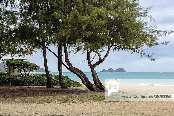 Beautiful beaches on Oahu.