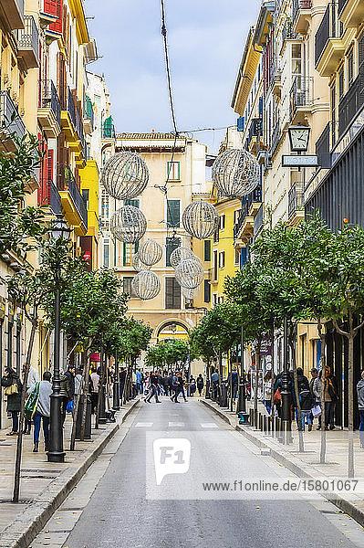Spain  Majorca  Palma  city centre