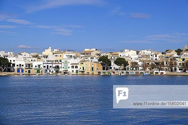Portocolom  historisches Ortszentrum  Region Migjorn  Mallorca  Balearen  Spanien  Europa