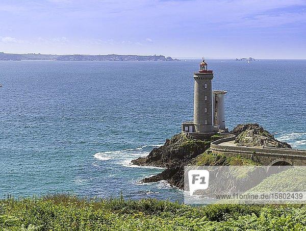 Phare du Petit Minou  Plouzané  Département Finistère  Frankreich  Europa