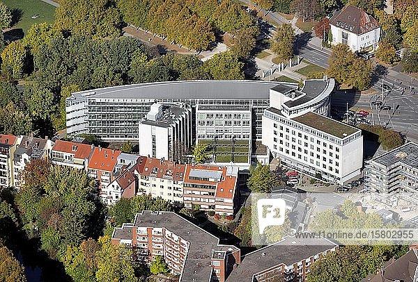 Verwaltungsgebäude der Industriegewerkschaft Bergbau  Chemie  Energie  IGBCE  Hannover  Niedersachsen  Deutschland  Europa