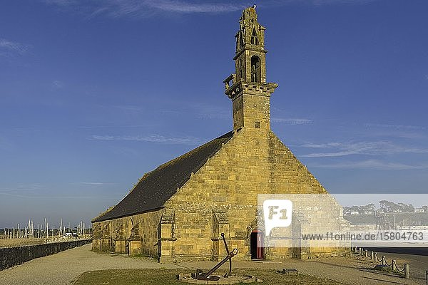 Kirche Notre Dame de Rocamadour  Camaret-sur-Mer  Département Finistère  Frankreich  Europa
