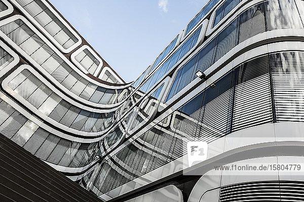 Modernes Bürogebäude  Readers Digest Deutschland  Stuttgart  Baden-Württemberg  Deutschland  Europa