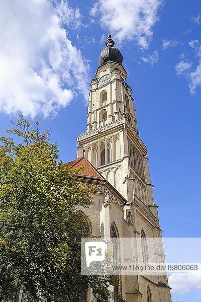Stadtpfarrkirche St. Stephan  Braunau am Inn  Innviertel  Oberösterreich  Österreich  Europa