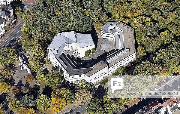 Hochschule für Musik  Theater und Medien  Musikhochschule  erbautin Form eines Ohrs  Eilenriede  Hannover  Niedersachsen  Deutschland  Europa
