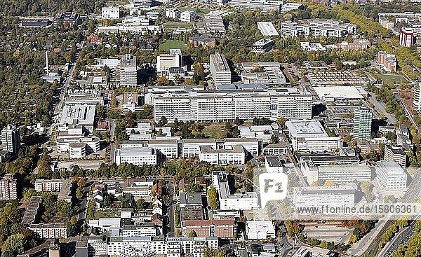 Medizinische Hochschule Hannover  MHH  Zentralklinikum  Medical Park  Hannover  Niedersachsen  Deutschland  Europa