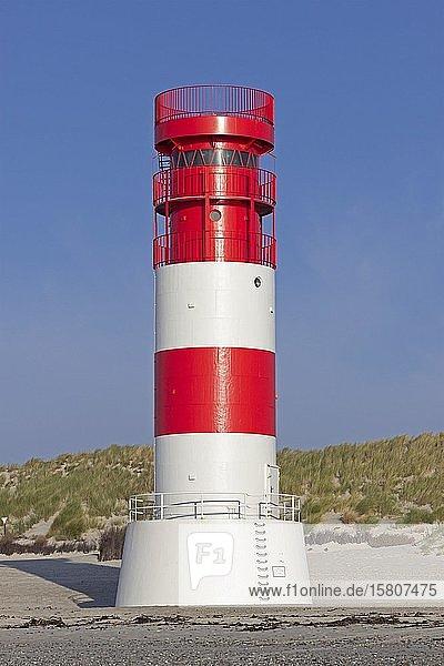 Leuchtturm auf der Düne  Helgoland  Schleswig-Holstein  Deutschland  Europa