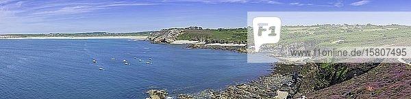 Pointe de Dinan  Crozon  Département Finistère  Frankreich  Europa