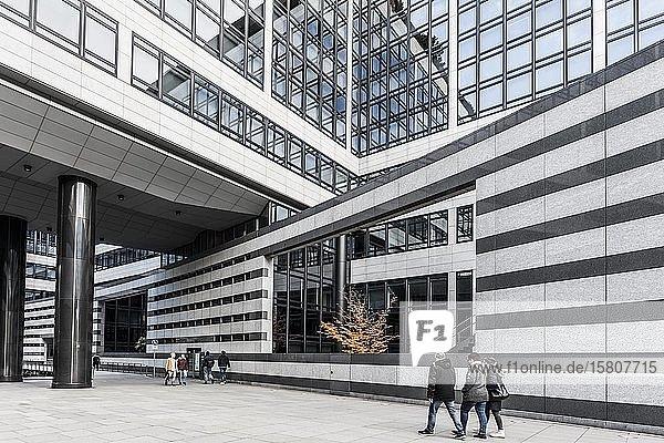 Modernes Bürogebäude  Landesbank Baden-Württemberg  Stuttgart  Baden-Württemberg  Deutschland  Europa