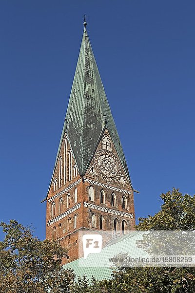 Johanniskirche  Lüneburg  Niedersachsen  Deutschland  Europa