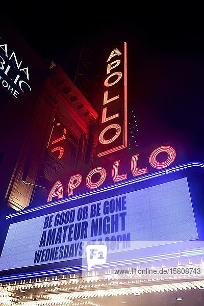 Be good or be gone-Show im Apollo-Theatre in Harlem  New York City  New York State  USA  Nordamerika Be good or be gone-Show im Apollo-Theatre in Harlem, New York City, New York State, USA, Nordamerika