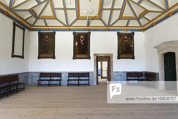 Kloster St. Martin von Tibaes  Eingangshalle  Braga  Minho  Portugal  Europa