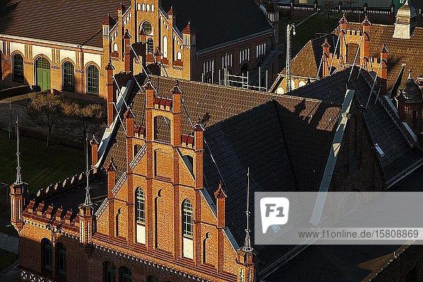 Backsteingotik  Zeche Zollern II/IV  Westfälisches Industriemuseum  Dortmund  Ruhrgebiet  Nordrhein-Westfalen  Deutschland  Europa