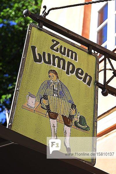Bar zum Rumpen at the Gerbl Inn  Seeham  Salzburg Lakeland  Salzburger Land  Austria  Europe